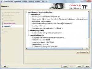 Oracle 11g Database Installation:Pic 4